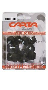 CARTA RUGBY FOOTBALL SPORTS BOOT SHOE STUDS SET OF 12