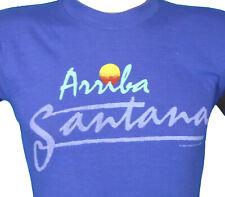 NOS vintage 80s WWF ARRIBA TITO SANTANA WRESTLING PAPER THIN T-Shirt XS wwe