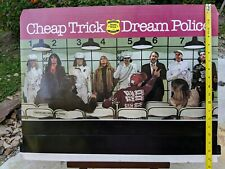 Cheap Trick Poster Dream Police 3 D Cardboard Pop Out Promotional Display Rare