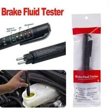 Brake Fluid Liquid Oil Tester Pen 5LED Indicator for DOT3/DOT4 Car Testing Tool