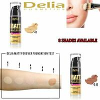 Delia Cosmetics High Covering Make Up Foundation Matt Forever 24 Hours