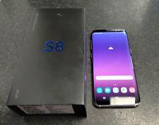 Samsung Galaxy S8 SM-G950U 64GB Black Sprint Clean IMEI Heavy Screen Burn