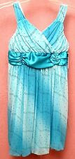 Amy Byer IZ Girls Size 12 Dress Teal BNWT Gorgeous The Perfect Party Dress