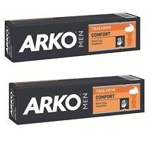Arko Men Comfort Shaving Cream 100ml Each Barber & Home Use (2 Pcs Offer)