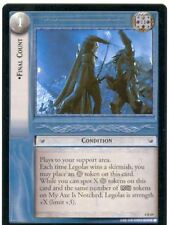 Lord Of The Rings CCG Card TTT 4.R69 Final Count