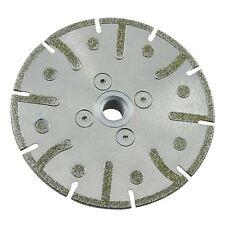 Electro Plateado Diamante Molienda de Disco 115mm con brida