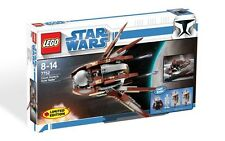 7752 COUNT DOOKU'S SOLAR SAILER star wars lego NEW legos set EXCLUSIVE clone