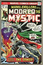 Marvel Chillers #2-1975 fn/vf Modred The Mystic