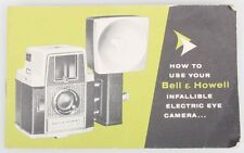 Bell Howell Electric Eye Camera Guide