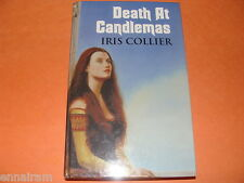 Death at Candlemas Iris Collier (2005 hc Large Type) Nicholas Peverell Mystery