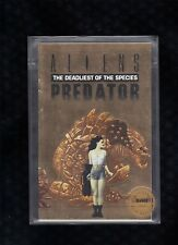 Aliens Predator The Deadliest of the Species Gold Variant Ashcan Comic Bolton A3