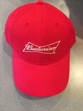 BUDWEISER RED ADJUSTABLE BALL CAP/HAT