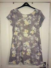 .size 16 Next stretch grey floral dress..