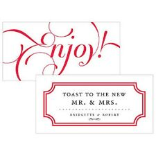 120 Expressions Drink Tickets Wedding Favor Cards