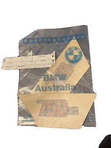NOS BMW 750cc R75 Side Cover Stickers Decals New Old Stock