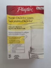 Playtex Nurser Drop-Ins Liners 4 oz. 50 ct Disposable Liners Reduce Colic