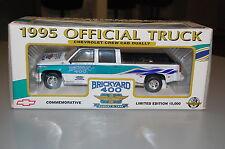 1995 Chevy Crew Cab Dually Brickyard 400 Die-Cast Silverado Brookfield 1:25