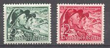 Germany 1938, Sudetenland Plebiscite MNH set,