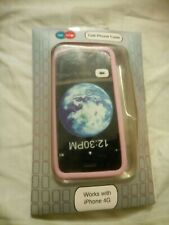 Get Some Pink Silicone Cell Phone Case For IPhone 4 G
