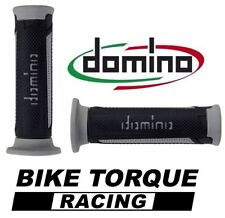 Suzuki RG50  Black / Grey Domino Turismo Handle Bar Grips