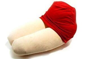 Hizamakura Lap Pillow confy The thighs Red Mini Skirt from Japan