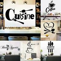 Removable Art Vinyl Kitchen Style DIY Wall Sticker Decal Mural Home Room Decors