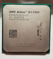 PRE-OWNED AMD Athlon X4 880K FM2+ Socket CPU Processor - Clean, w/ thermal paste