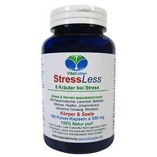 StressLess, 8 Kräuter bei Stress, 180 Pulver-Kapseln a 350mg, #25537