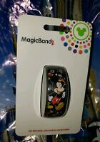 Disney MICKEY MOUSE Ultimate All Over Black Magic Band Magicband Parks New