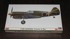 Hasegawa 1/48 P-40E Warhawk Prisoner of War WWII Japanese SP304