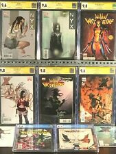 1st Appearance X-23 New Wolverine NYX 3 4 CGC 9.6 ss First Issue #1 CGC 9.8 Lot!
