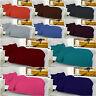 Plain Dyed Duvet Quilt Cover Set Luxurious 68 Pick SOFT Polycotton + Pillowcases