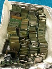 1 Lot of assorted Mother Board Processors, Pentium, Celeron 135 +/- about 5.5lb