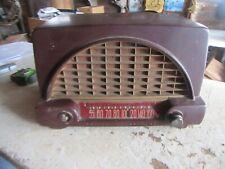 Vintage Philco Transitone Radio Model 50-526 Parts or Restoration Lot 19-106-7