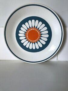 Vintage Figgjo Daisy Dinner Plate Turi Design Norway MCM Scandinavian Style