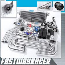 Supra MA70 MZ30 MZ21 MKIII 7M-GTE 7MGTE GT35 T4 Turbo Kit .68AR Turbine 3'' Pipe