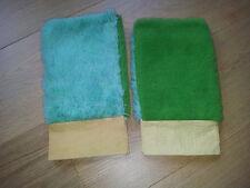 WASCHHANDSCHUH 2x Microfaser Mikrofaser Handschuh Autowaschhandschuh Reinigung