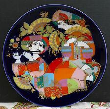 "Rosenthal Wandteller Orientalische Nachtmusik "" Ouvertüre "" Motiv 1 !!!"