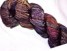 QUEGUAY 1 Lg Skein 150yd Malabrigo SILKY MERINO Wool Silk 51/49 SOFT LUXURY YARN