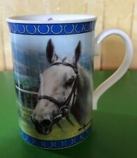 DESERT ORCHID RACEHORSE CHINA MUG by  DANBURY MINT PERFECT