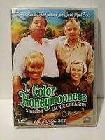 The Color Honeymooners - Collection 2 (DVD 3-Disc Set) Jackie Gleason NEW SEALED