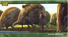 Star Wars Clone Wars Widevision Silver Stamped Parallel Base Card [500] #58
