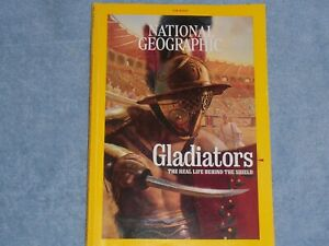 NATIONAL GEOGRAPHIC MAGAZINE - AUGUST 2021 - GLADIATORS, CLIMATE - free shipping