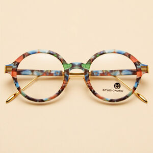 NEW Vintage Round Metal Glasses Eyeglasses Frame Myopia Spectacles Optical Rx