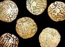 1 Medieval India, Chola Empire, Rajaraja Chola Coin, Derivative Series 985-1014