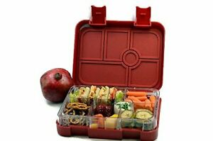 New BentoLicious Leakproof, Durable Bento Design Lunch Box for School & work RED