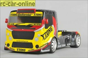 FG Sportsline Truck 4WD with FG Team Truck body shell clear, RC Lorry