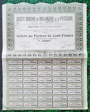 Dépt 69 - Lyon 7 Rue de Marseille - Rare Secteur Boulangerie & Patisserie - 1911