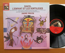 ASD 4167 Ravel L'Enfant Et Les Sortileges Andre Previn 1982 NEAR MINT + insert