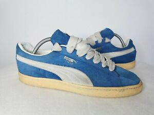 Puma Suede blue Trainers UK 9 2012